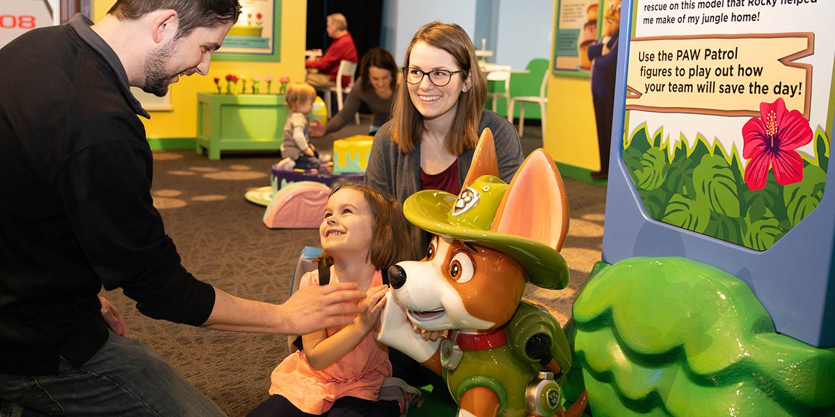 PAW Patrol exhibit coming to Children's Museum of Memphis this fall