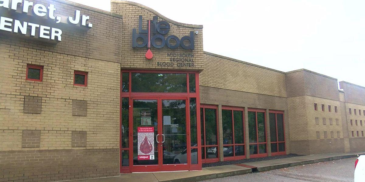 Longtime Mid-South Lifeblood center renamed