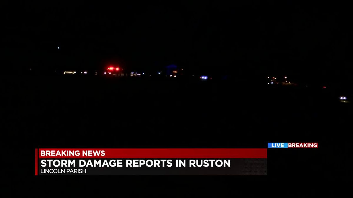 Damages reported in Ruston, LA Tech