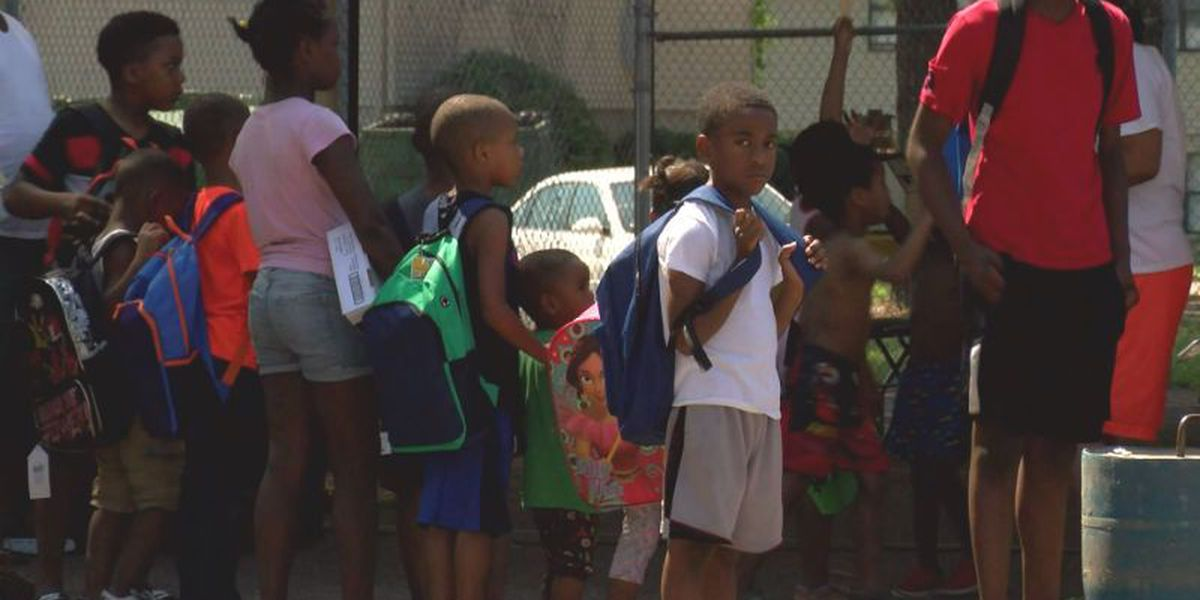 Final push helps families get ready to go back to school