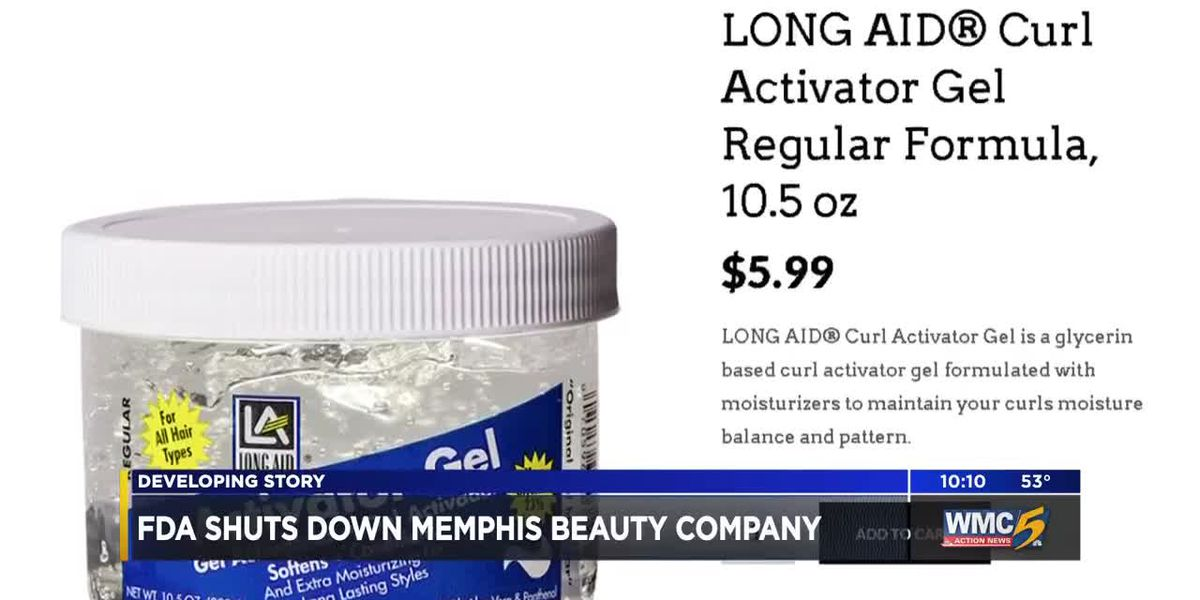 FDA shuts down Memphis beauty company after contaminants found in products
