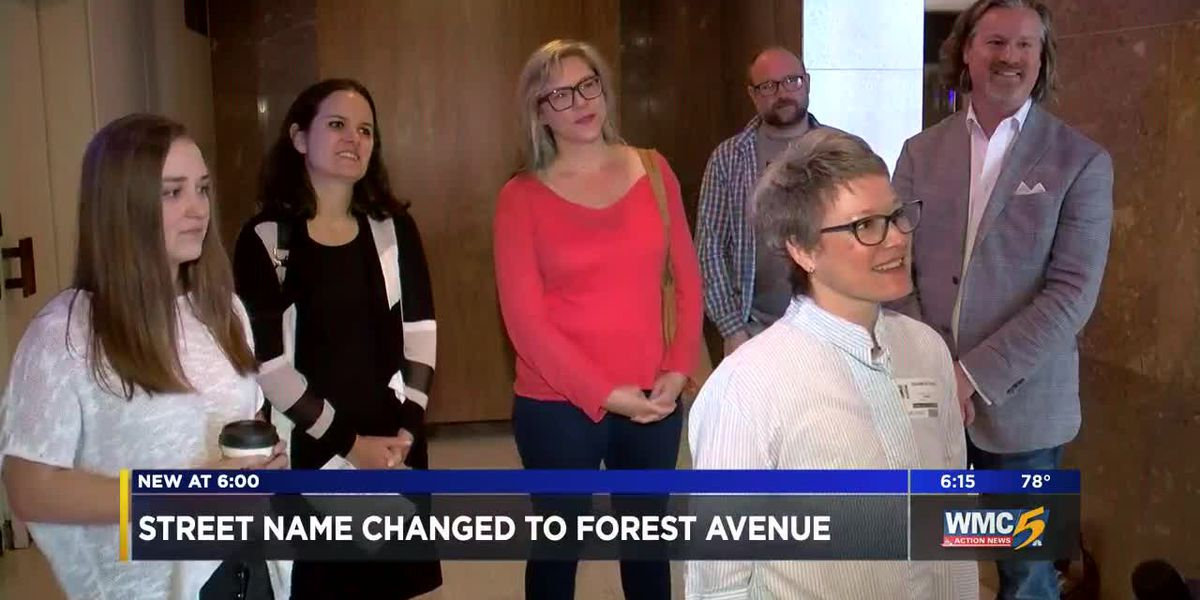 Residents celebrate after board votes to remove second R in Forrest Avenue