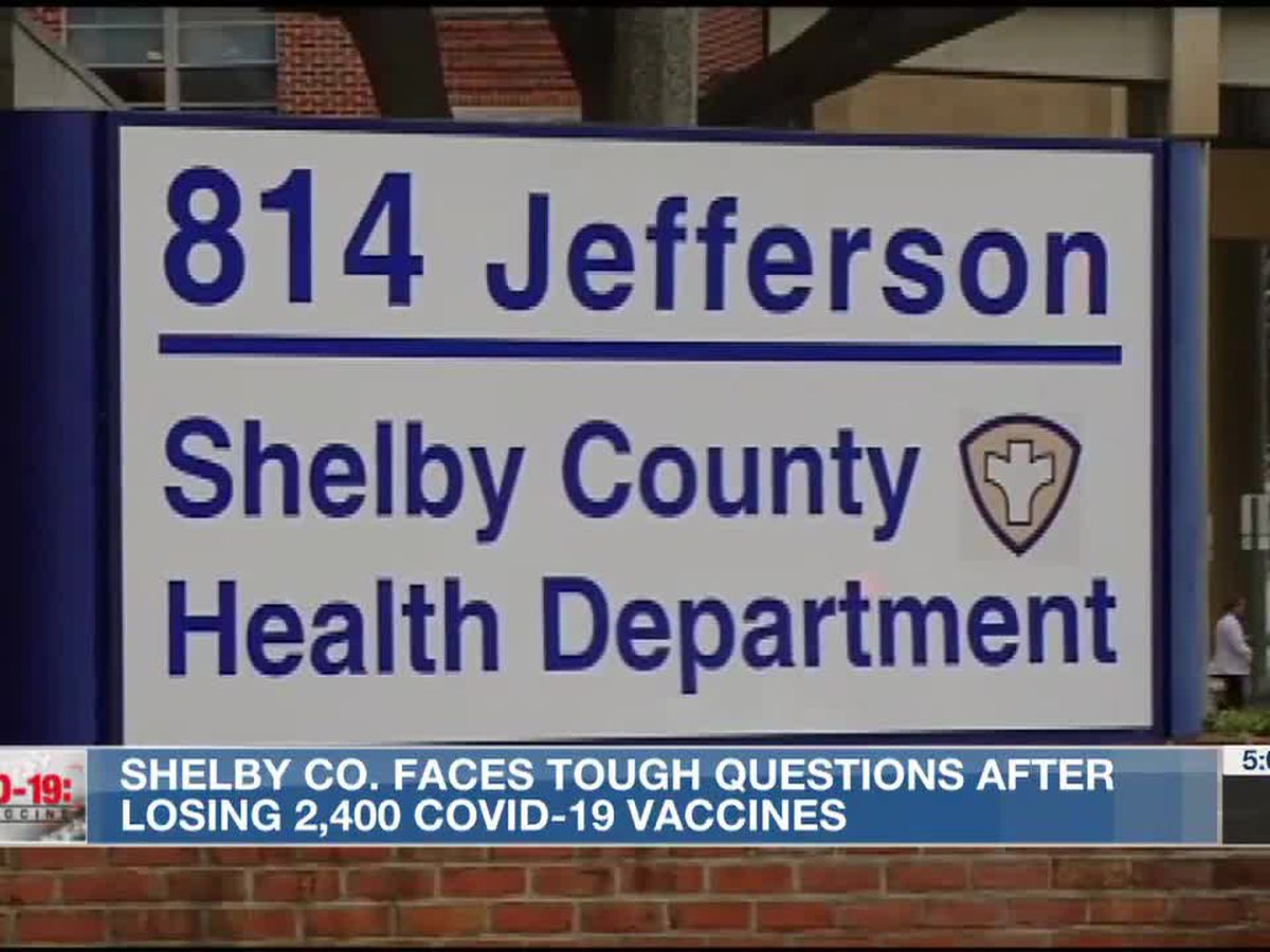 """State says Shelby County's stockpiling of vaccines """"another significant violation"""" of vaccine management"""