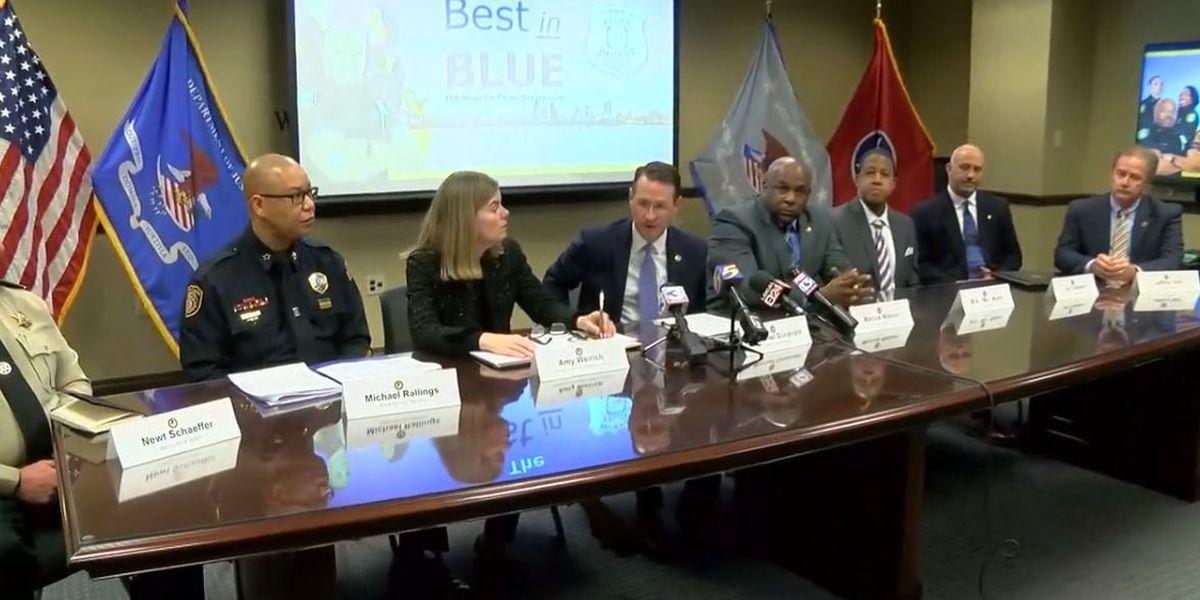 Law enforcement agencies present 2019 Memphis crime data, crime reduction strategies