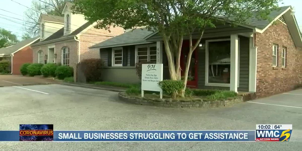 Mid-South small businesses struggling to get assistance during COVID-19 outbreak