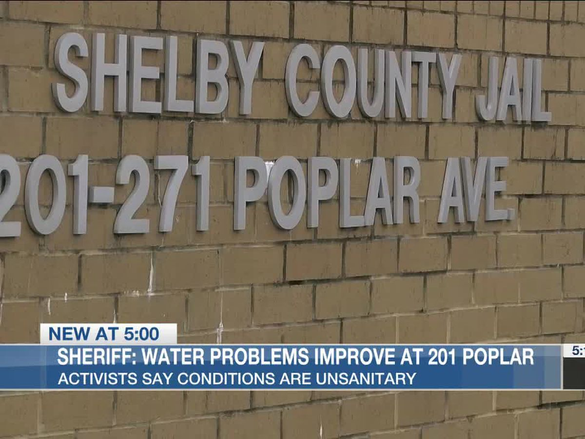 Sheriff: Water problems improve at 201 Poplar