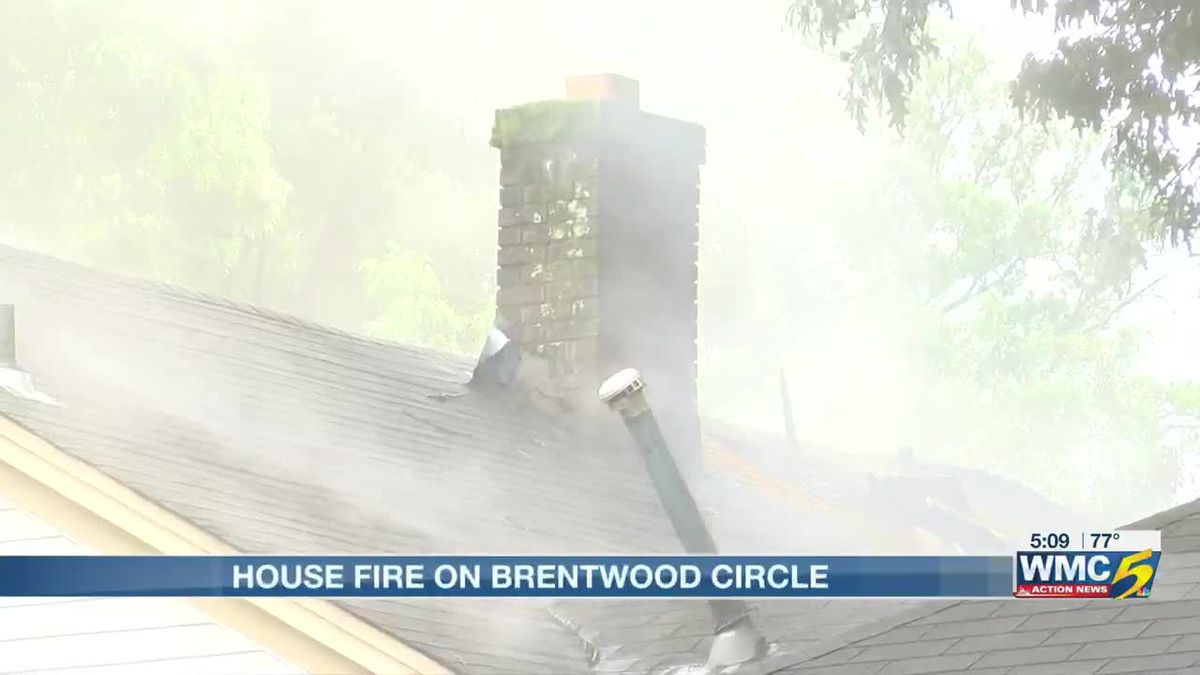 MFD battles house fire on Brentwood Circle