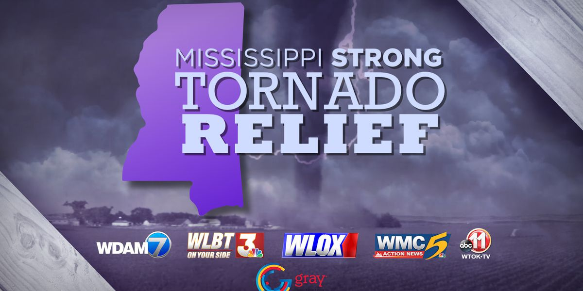 Mississippi Strong: WMC, Red Cross launch fundraiser for tornado victims