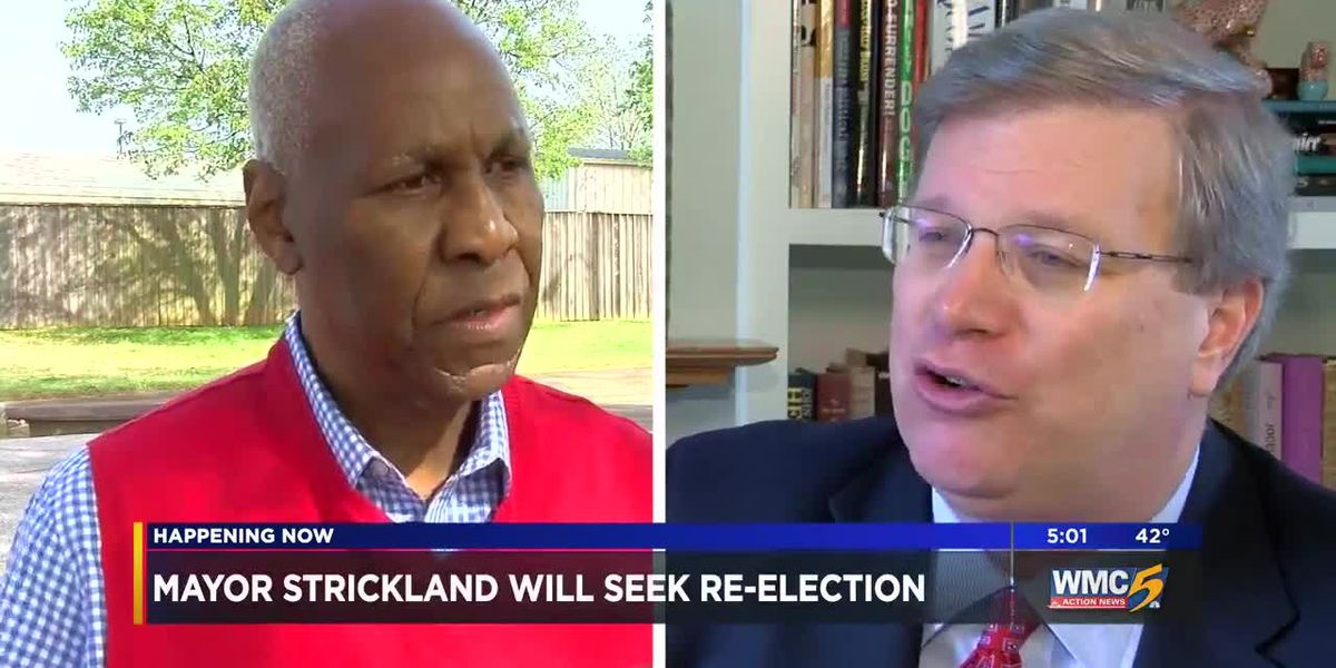 Memphis Mayor Strickland will seek re-election