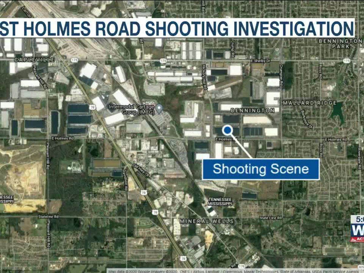 Suspect detained in connection to shooting at South Memphis factory