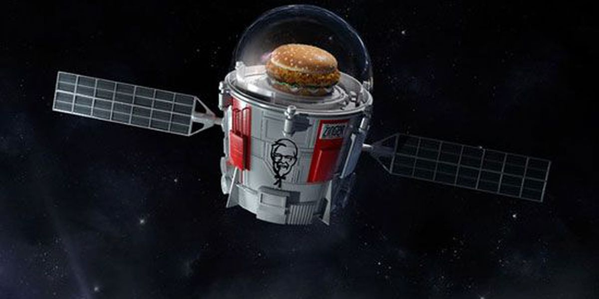 Actual scientists are helping KFC send a chicken sandwich into space