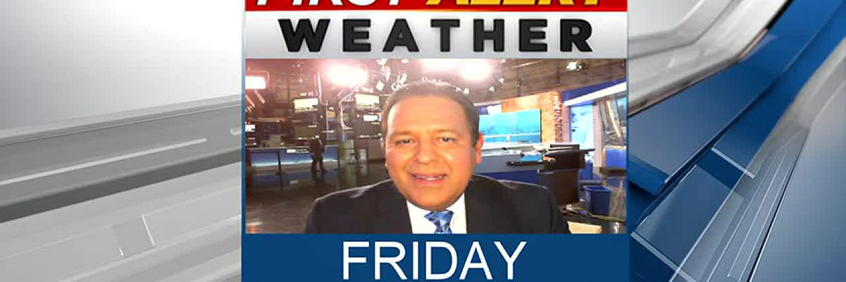 Friday evening weather update