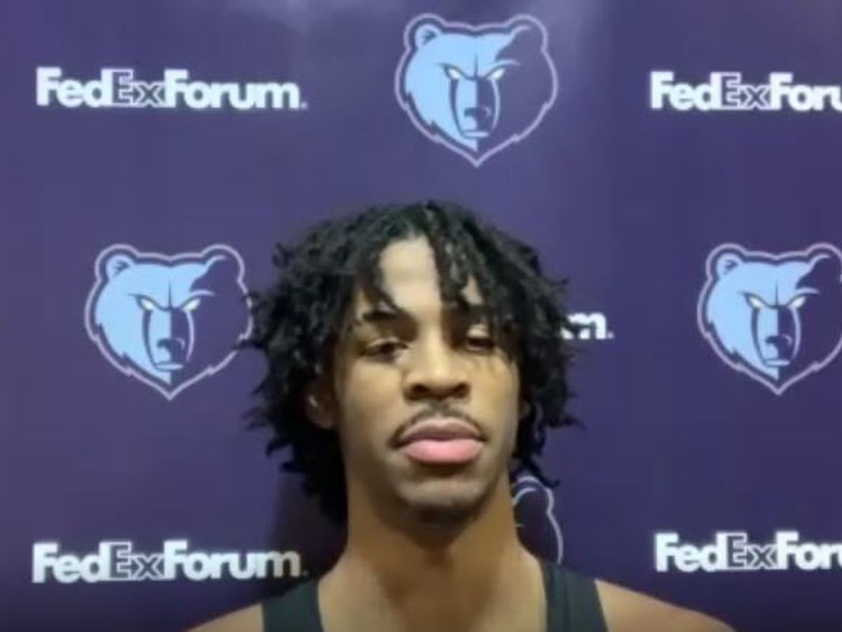 Grizzlies' Ja Morant says he was at controversial weekend party: 'I should have worn a mask'