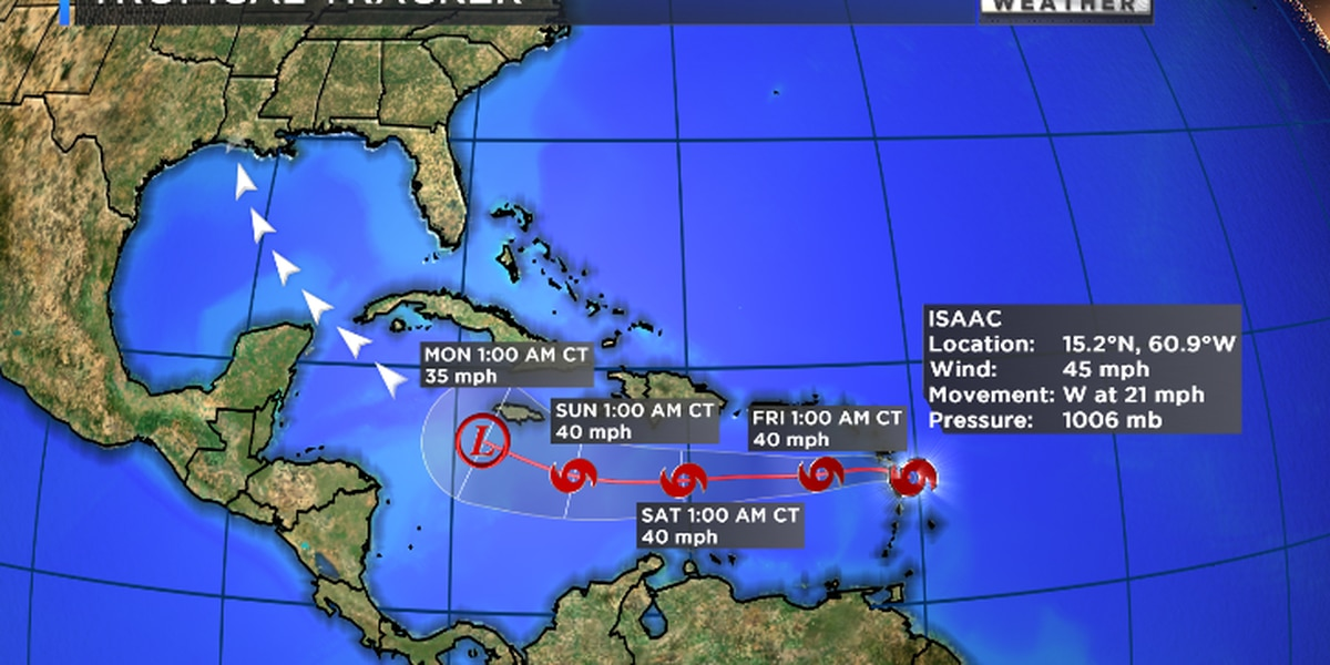 BREAKDOWN: This is what the tropical track actually means