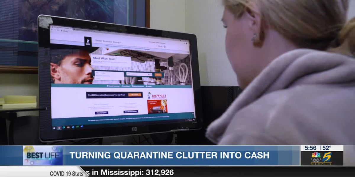 Best Life: Turning quarantine clutter into cash