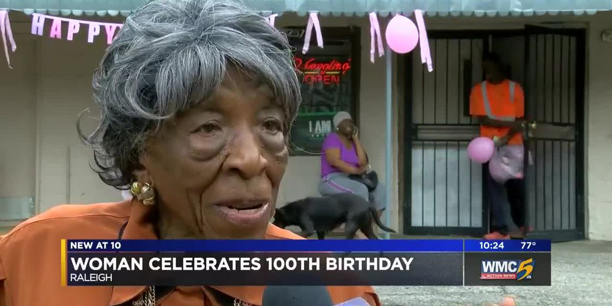 Raleigh woman celebrates 100th birthday, says faith is key to long life