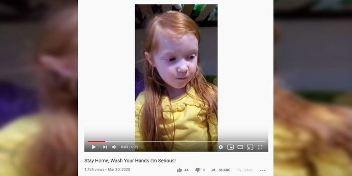 5-year-old Alaska girl is serious about keeping people safe
