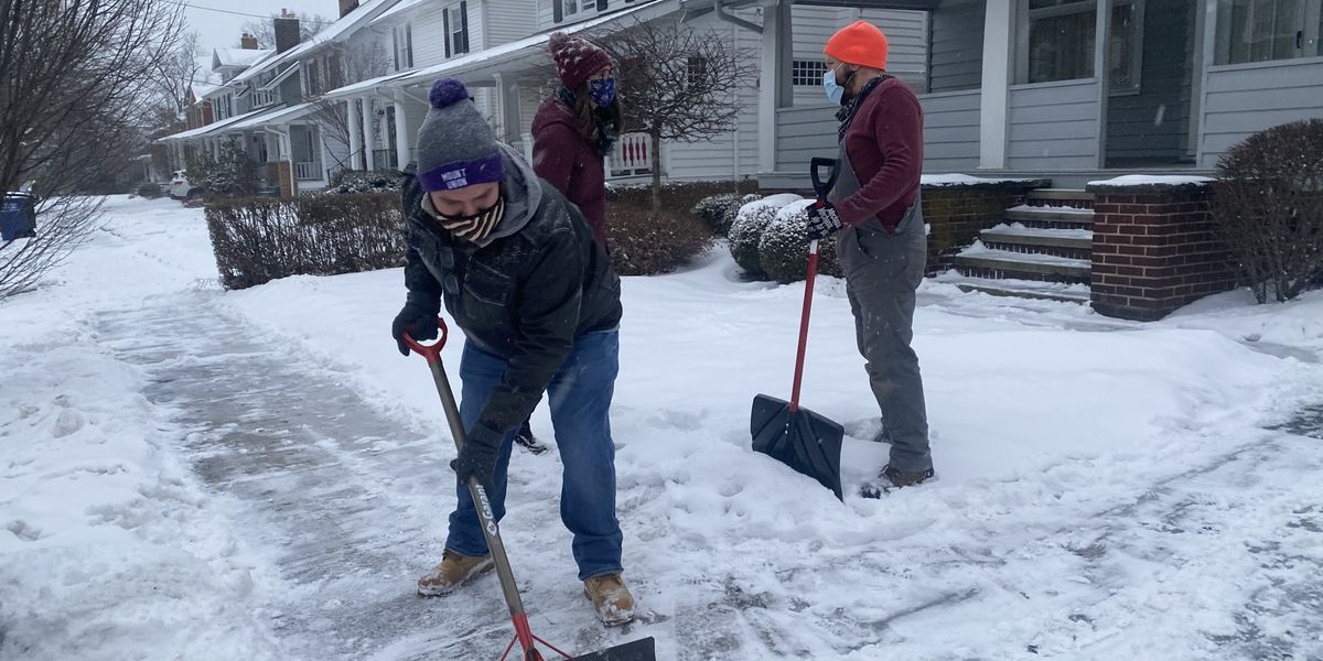 Why shoveling snow can be dangerous