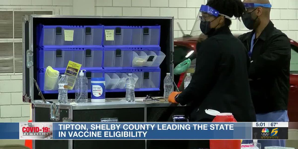 Tipton, Shelby County leading the state in vaccine eligibility, demand goes up