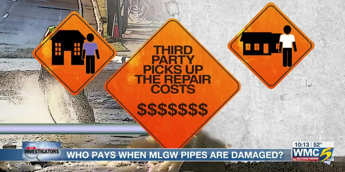 Customers pay for thousands of damages to MLGW pipes