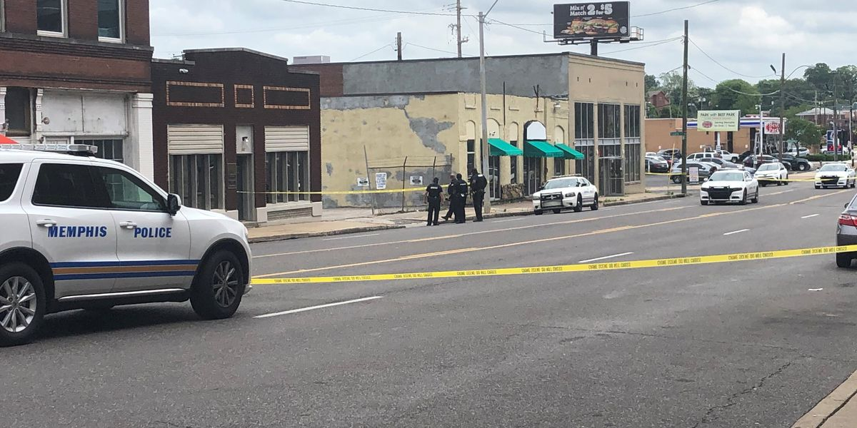 Bail bondsman detained after shooting near 201 Poplar, police say