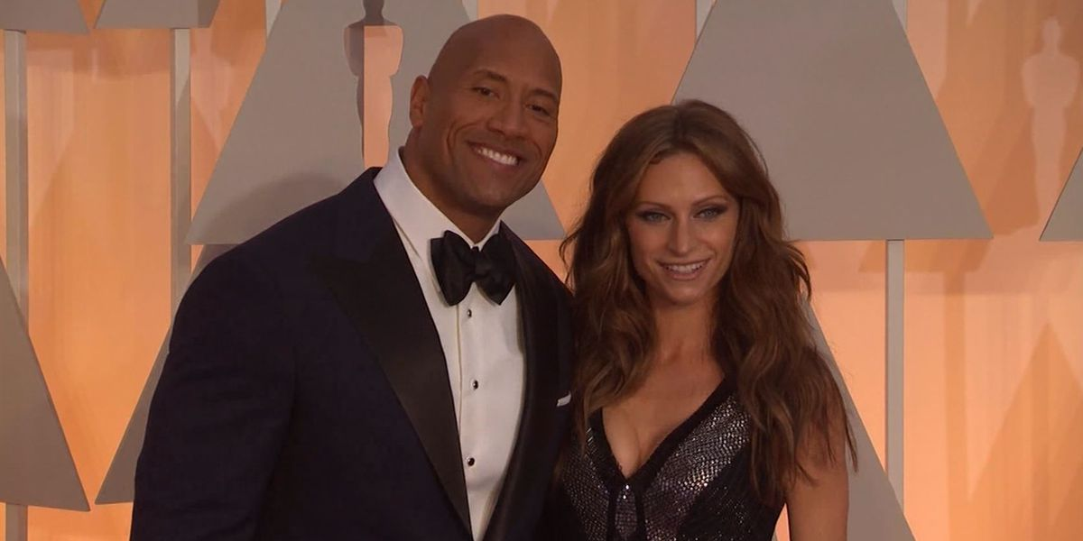 Dwayne 'The Rock' Johnson marries long-time girlfriend