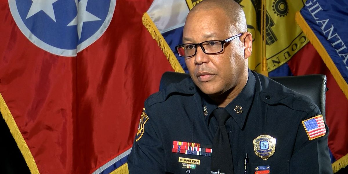 MPD director Mike Rallings retires from 31-year Memphis policing career