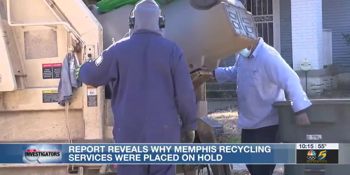 Investigators: City report shows why recycling services stopped in Memphis - chronic absenteeism and more trash