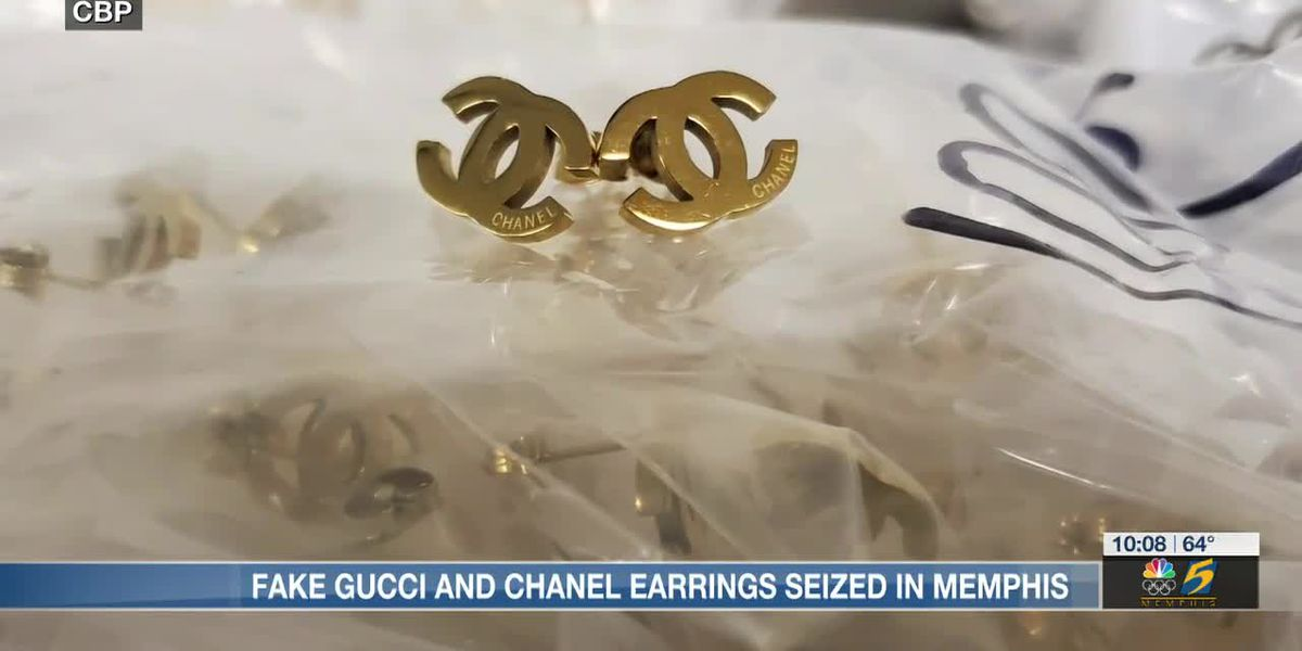 Fake Gucci and Chanel earrings seized in Memphis