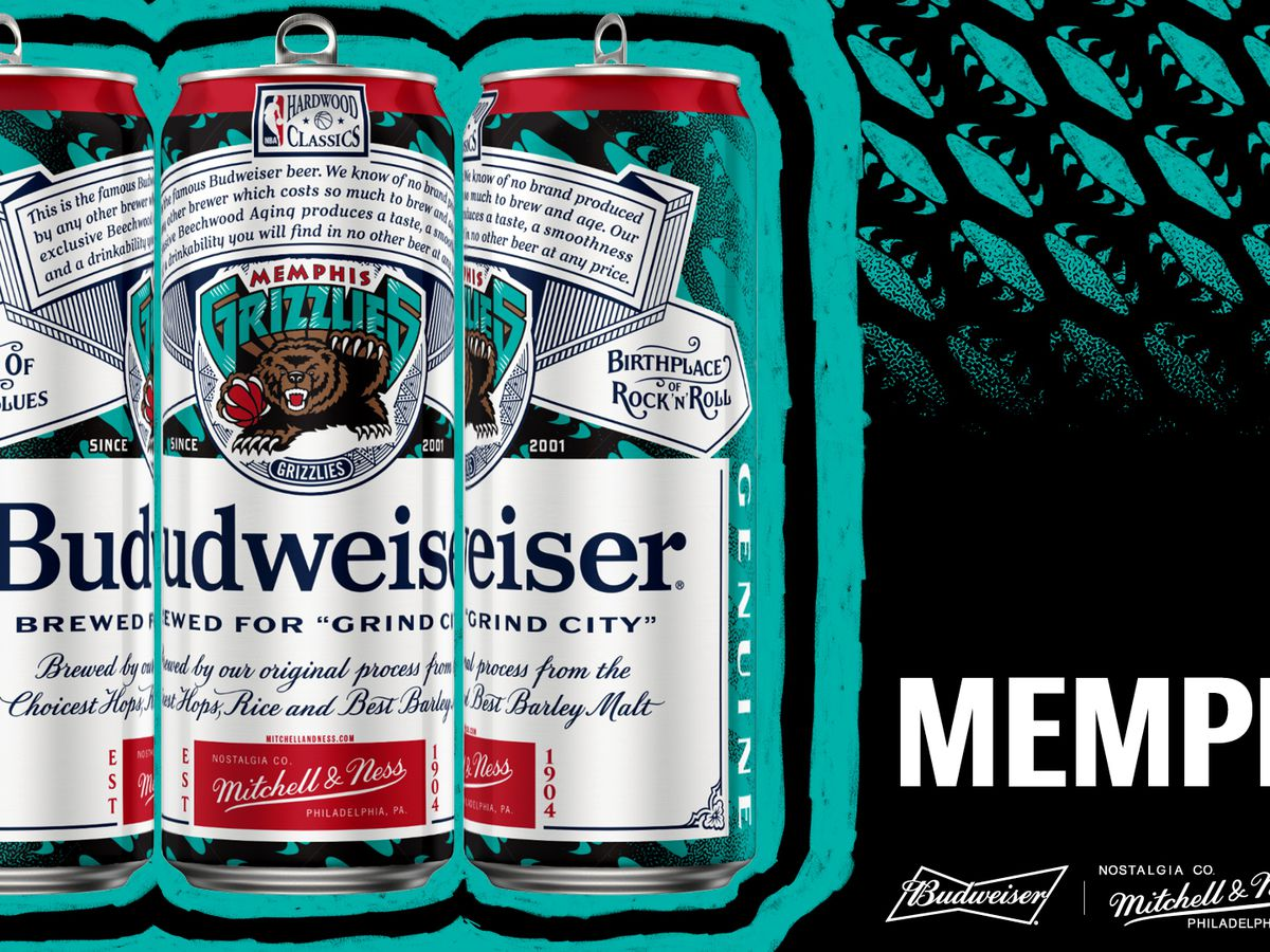 Brewed for 'Grind City': Budweiser partners with Mitchell & Ness on NBA gear and brew