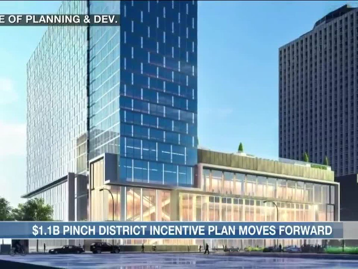 Memphis City Council committee votes on incentive plan for $1.1B Pinch District development
