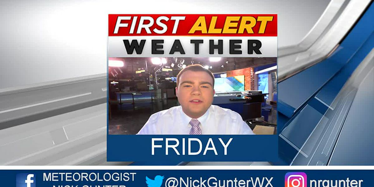 Friday, October 4th, First Alert Forecast
