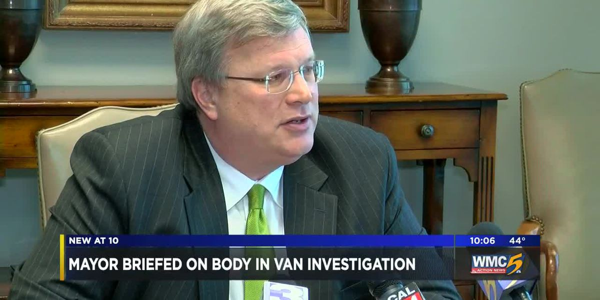 Memphis mayor briefed on body in van investigation