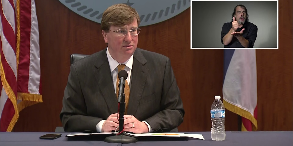 WATCH LIVE: Gov. Reeves gives update on COVID-19 amid uptick in cases