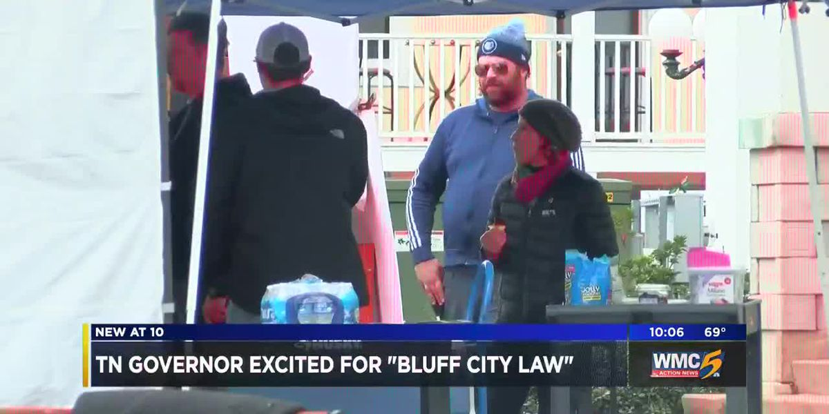 Governor Lee talks Bluff City Law