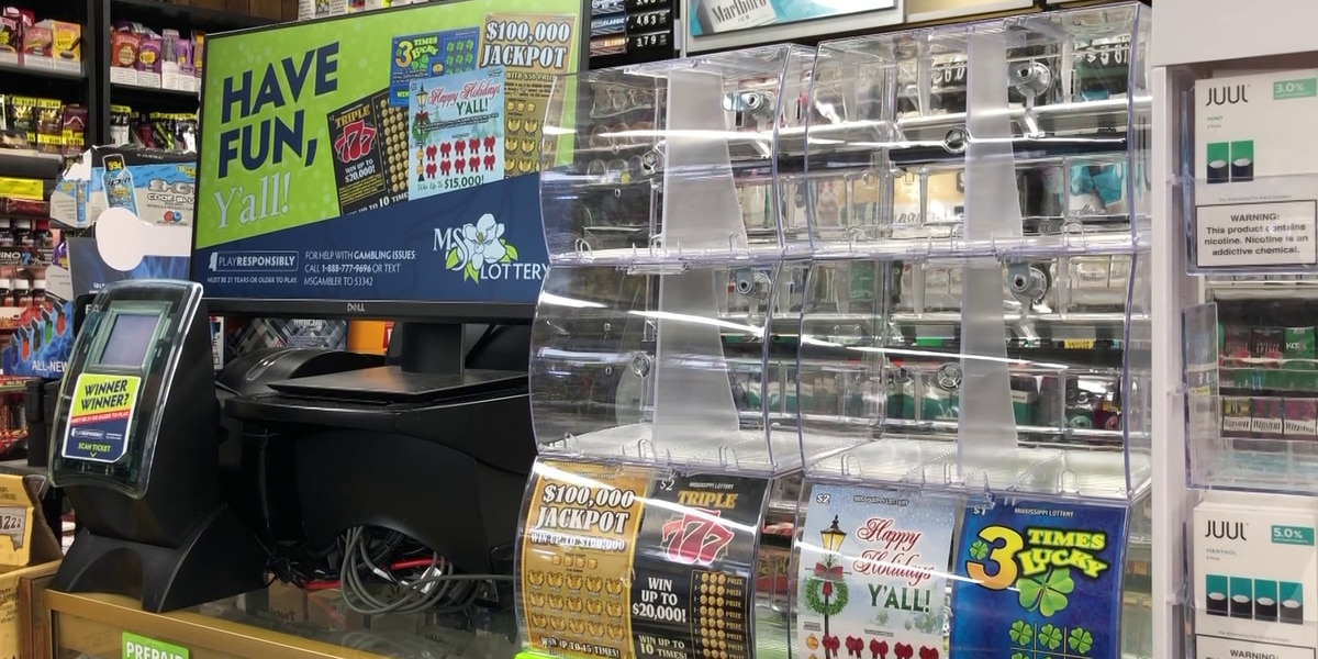 Mississippi Lottery sales top $2.5M on first day