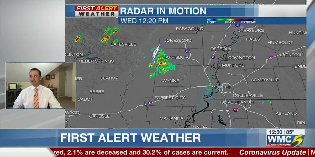 WMC – Wednesday, June 3 afternoon forecast