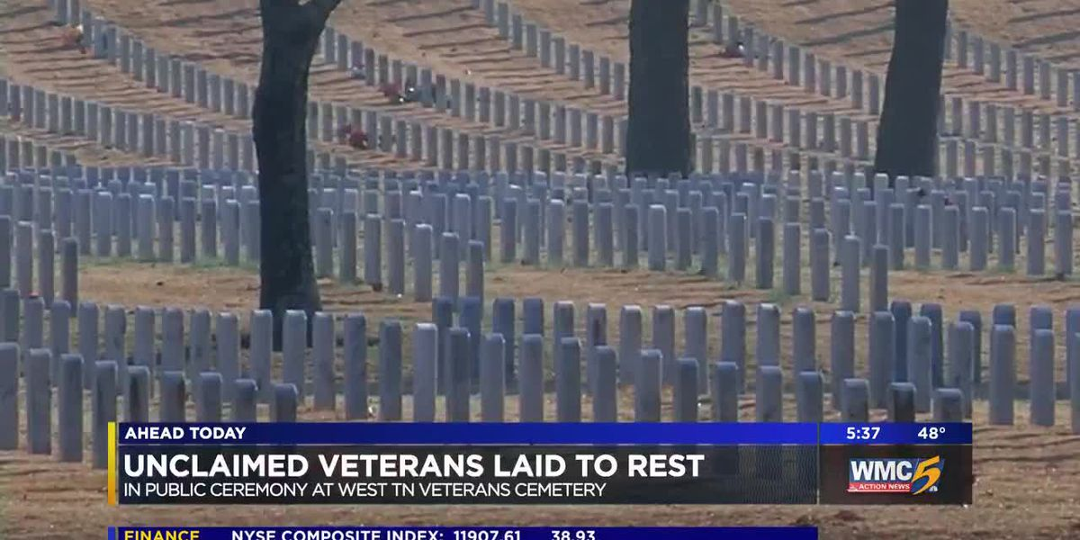 Unclaimed veterans given proper burial