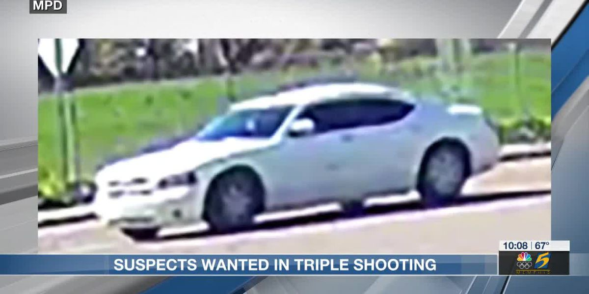 MPD looking for suspects involved in triple shooting