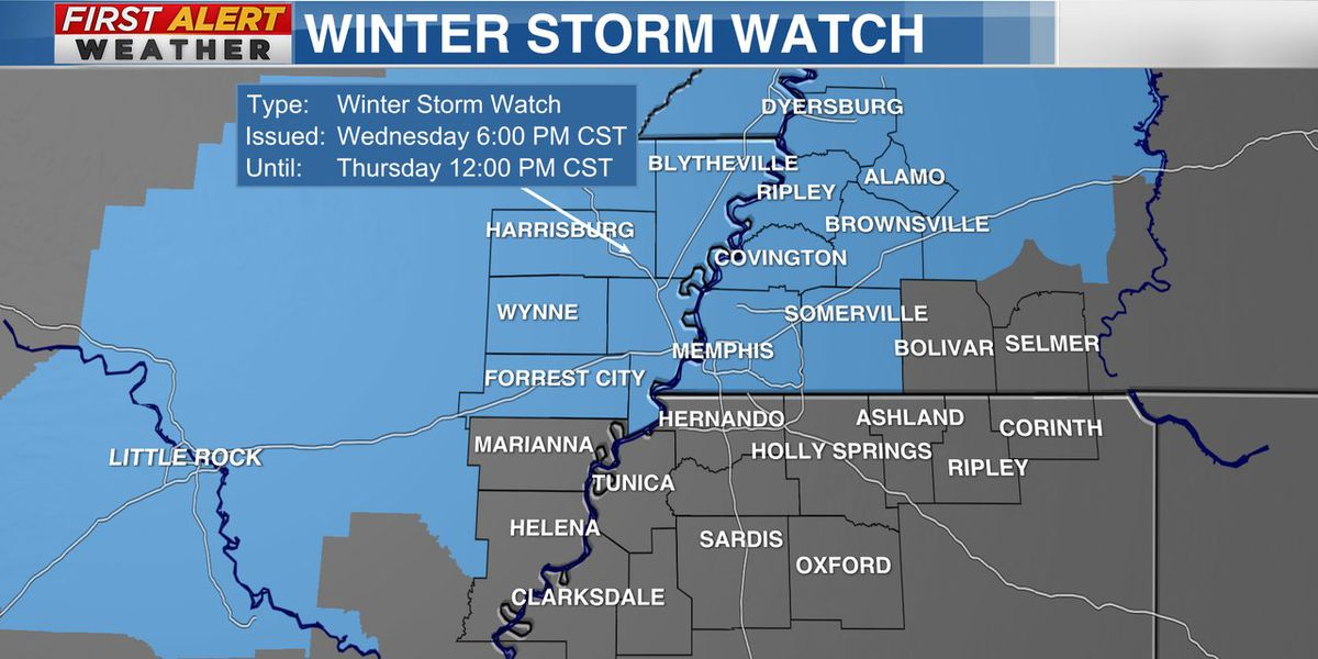 Freezing rain could threaten Mid-South this week
