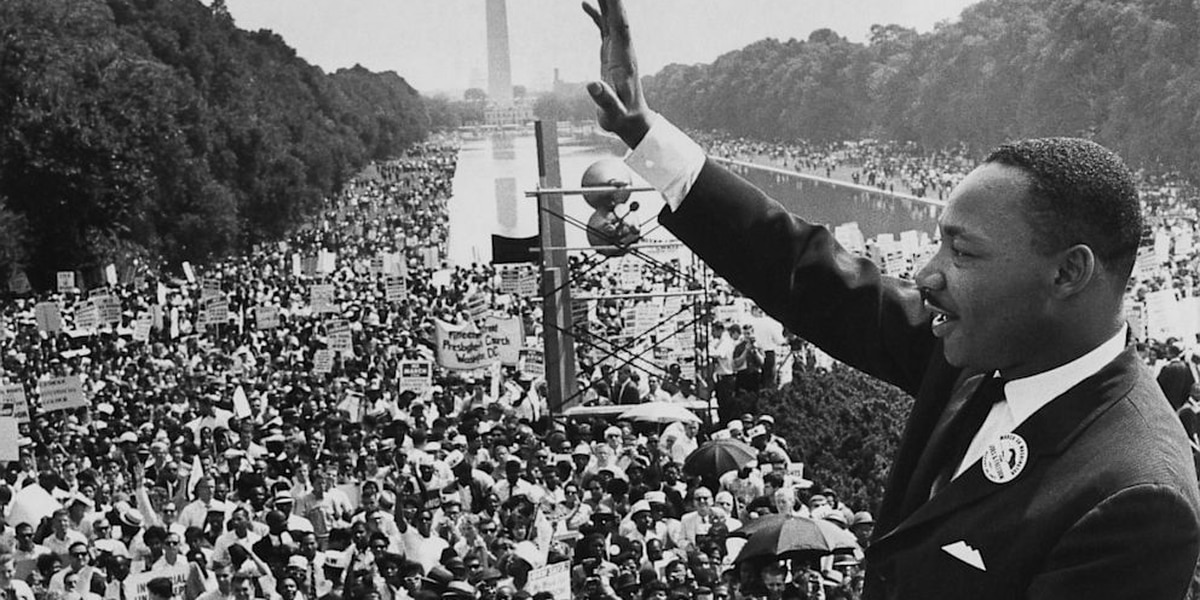 MLK's 'I have a dream' speech turns 55