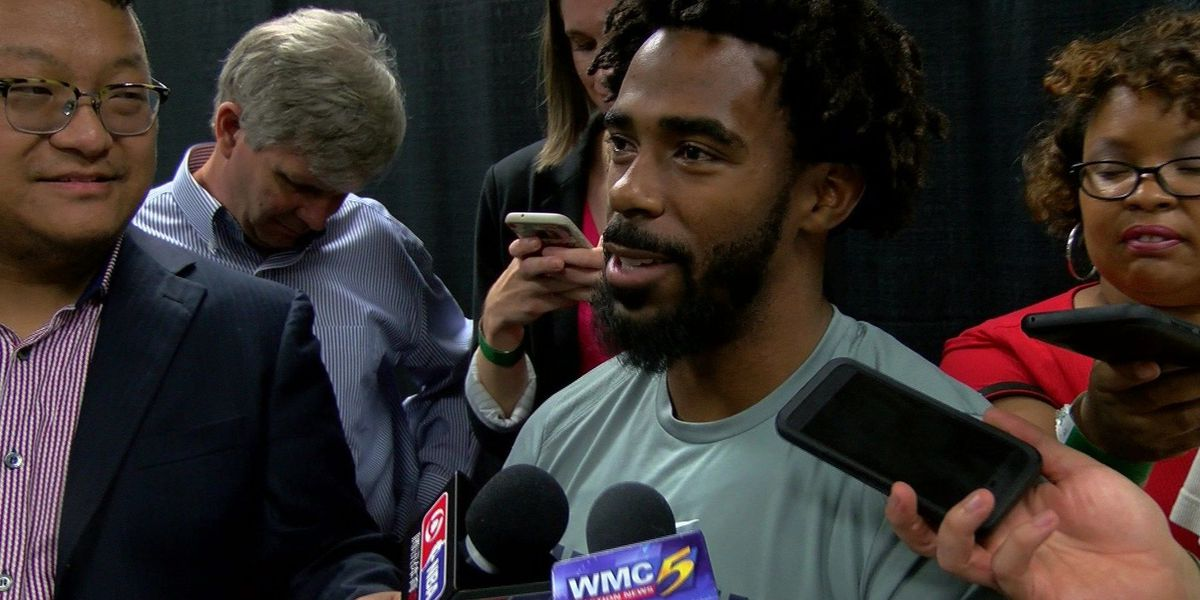 Mike Conley reacts to Trump's comments on NFL, national anthem