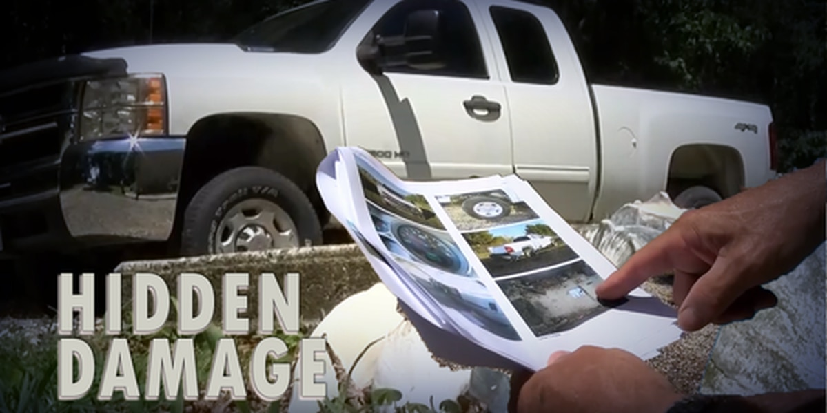 Hidden Damage: Used vehicles may have secret histories