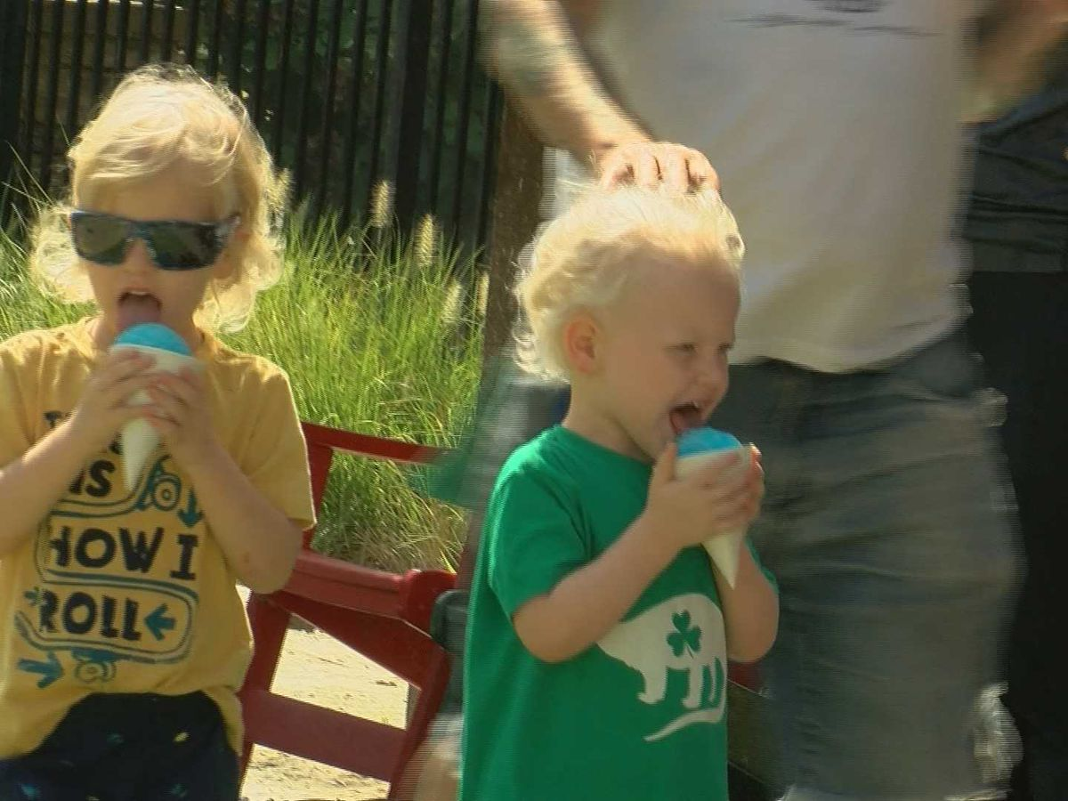 Families find unique ways to cool off in Memphis heat