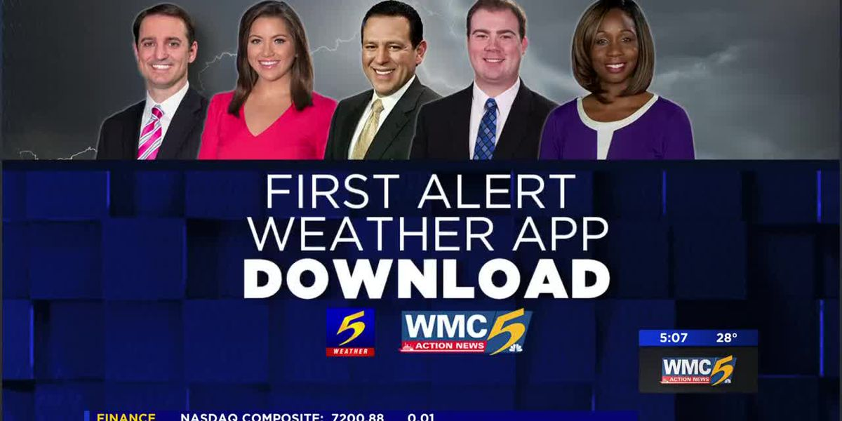 Download the WMC Action News 5 First Alert Weather app