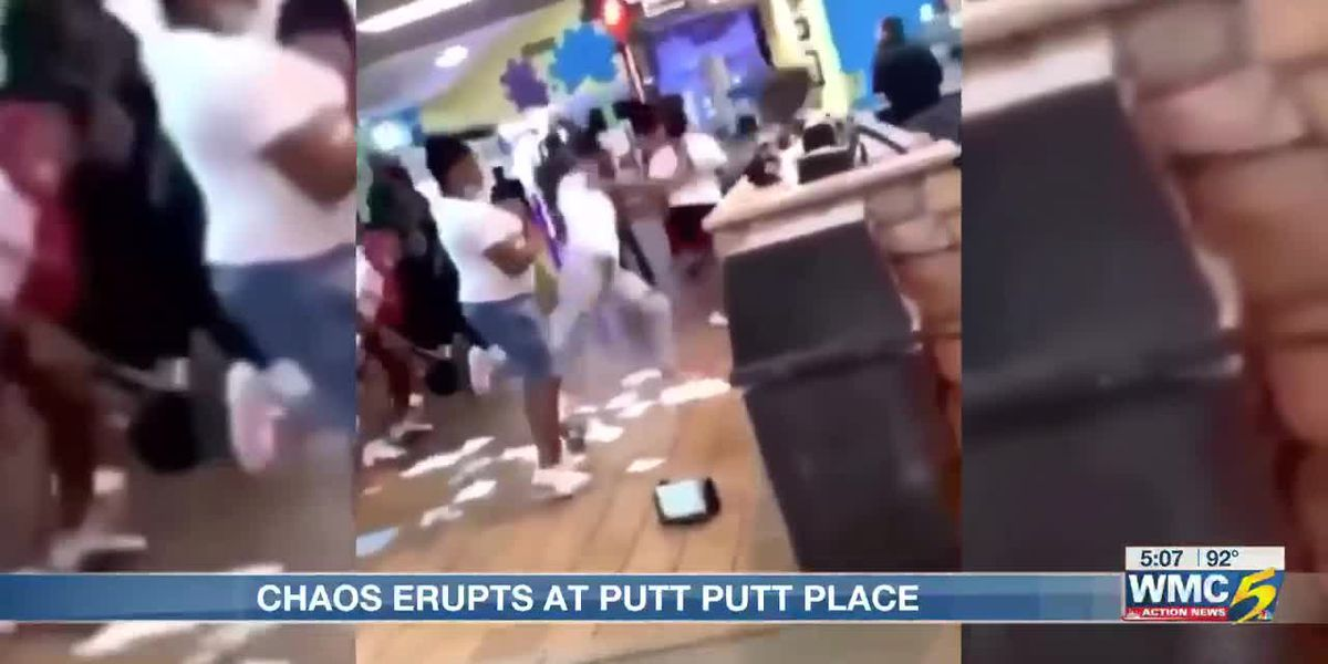 Mayhem ensues after hundreds of teens dropped off at Mid-South putt-putt facility