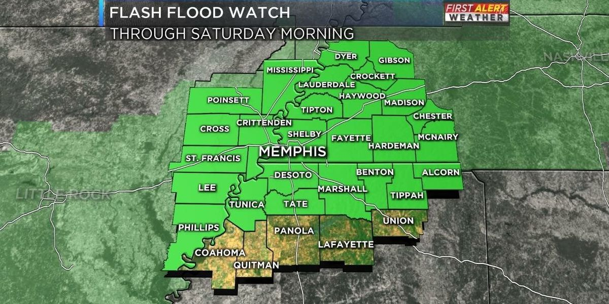 First Alert Friday: Flash flooding possible