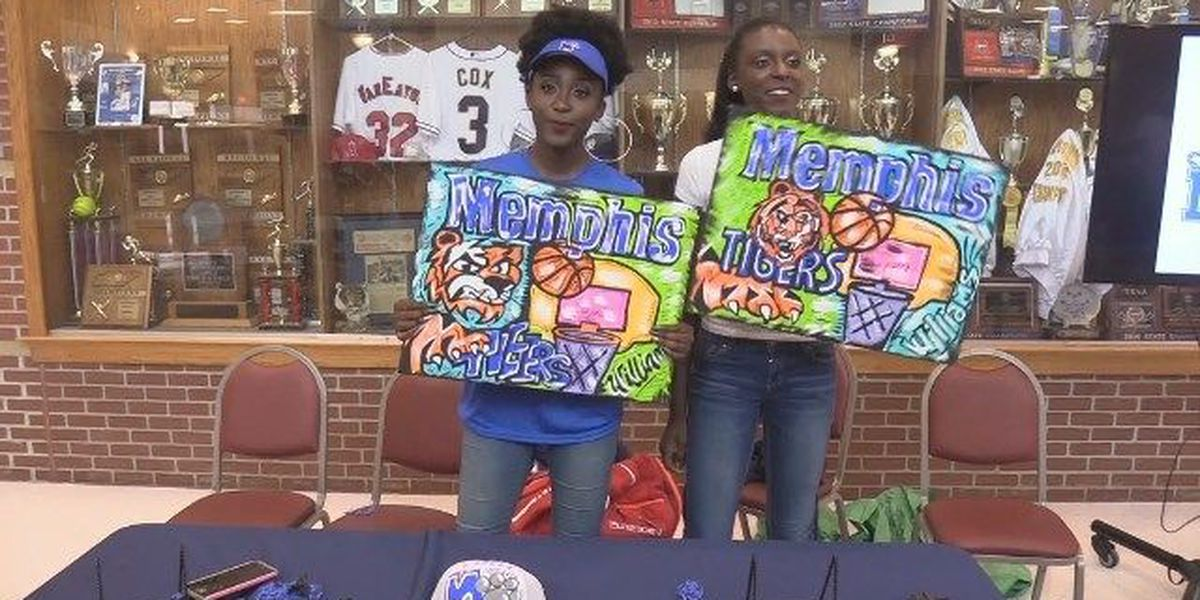 Twin sisters commit to Memphis basketball