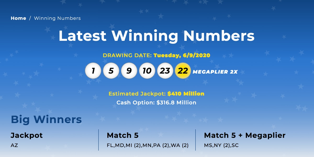 CHECK YOUR TICKETS! Mega Millions ticket winner in Mississippi