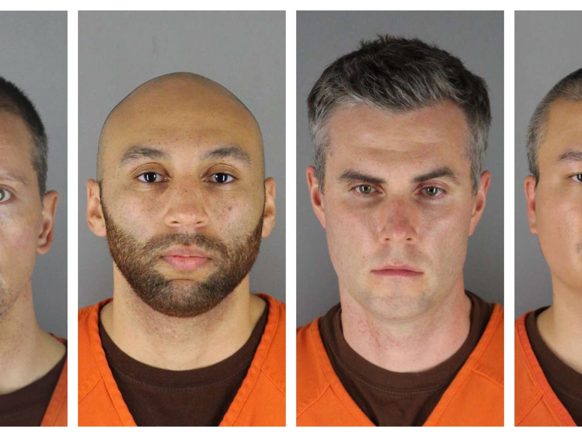 Ex-officers charged in Floyd death claim witness coercion, harm of leak